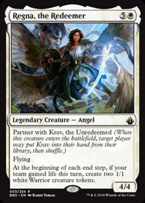 MtG Battlebond Rare Regna, the Redeemer #3