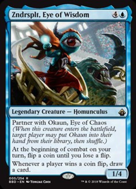 MtG Battlebond Rare Zndrsplt, Eye of Wisdom #5