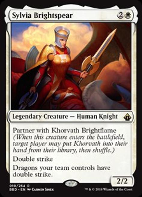 MtG Battlebond Rare Sylvia Brightspear #10