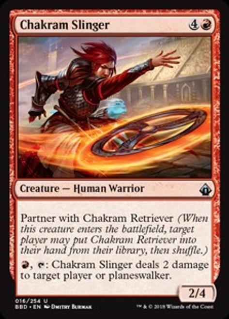 MtG Battlebond Uncommon Chakram Slinger #16