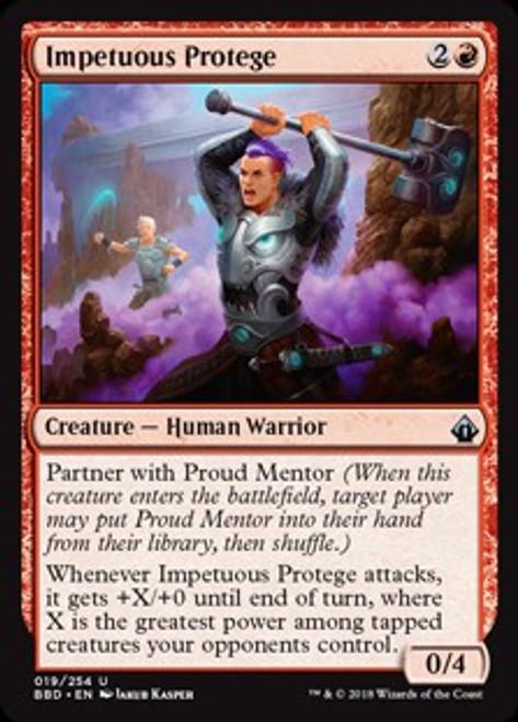 MtG Battlebond Uncommon Impetuous Protege #19