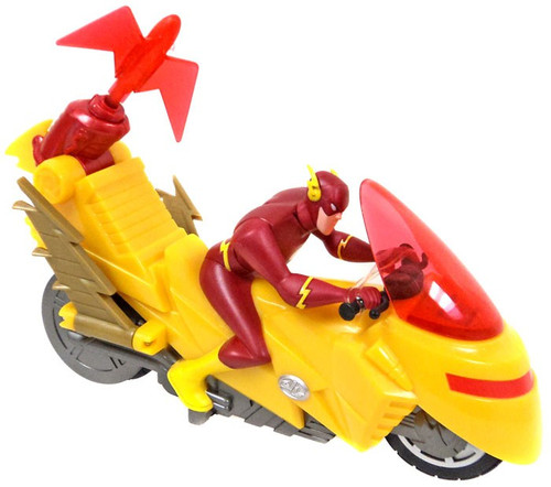 DC Universe Justice League The Flash Motorcycle Vehicle [No Package]