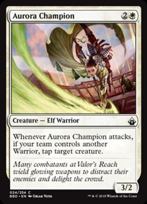 MtG Battlebond Common Aurora Champion #24