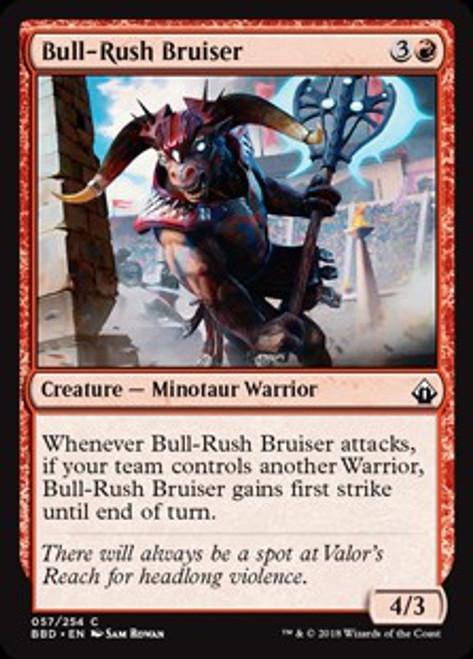 MtG Battlebond Common Foil Bull-Rush Bruiser #57