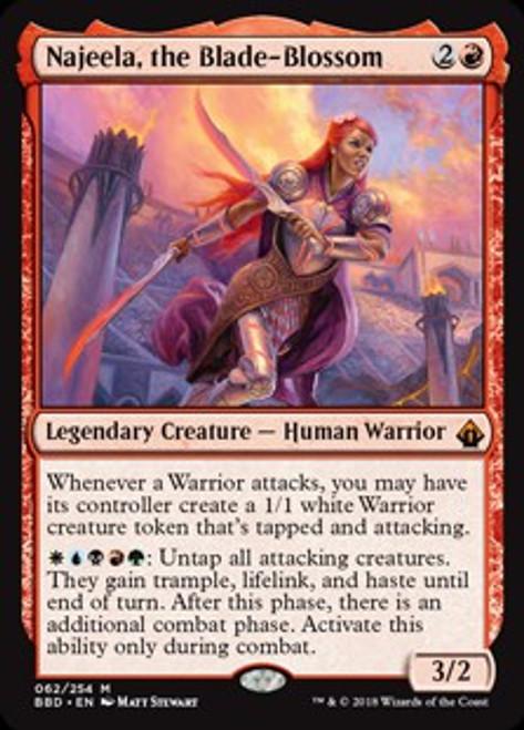 MtG Battlebond Mythic Rare Najeela, the Blade-Blossom #62