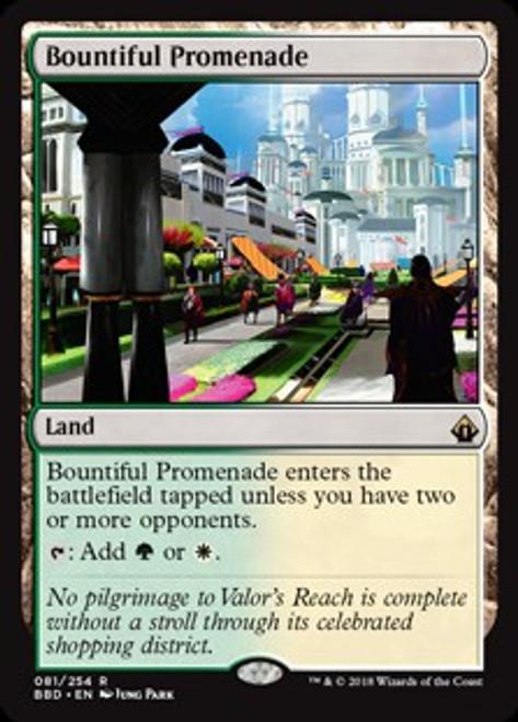 MtG Battlebond Rare Bountiful Promenade #81
