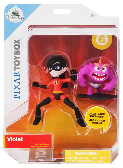 Disney / Pixar Incredibles 2 Toybox Violet Exclusive Action Figure [with Jack-Jack]