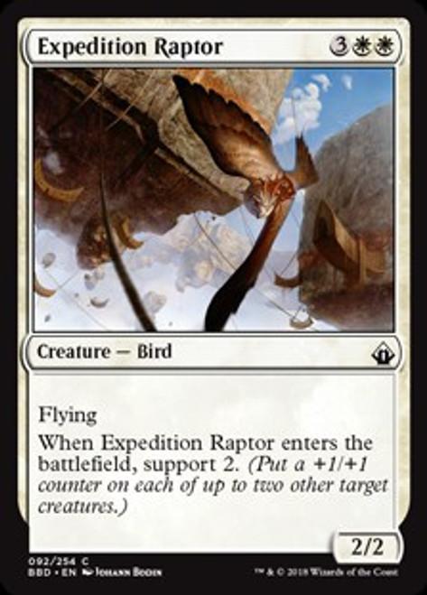 MtG Battlebond Common Expedition Raptor #92