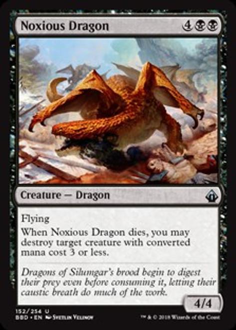 MtG Battlebond Uncommon Noxious Dragon #152