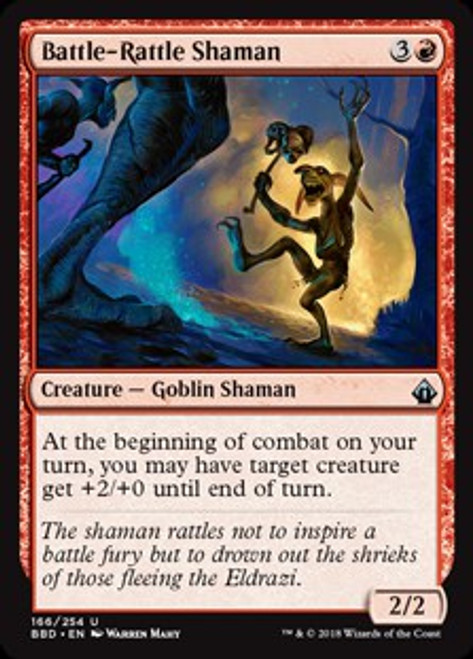 MtG Battlebond Uncommon Battle-Rattle Shaman #166