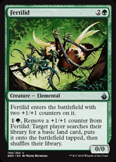 MtG Battlebond Uncommon Fertilid #199