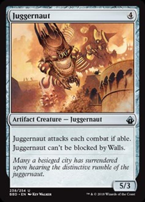MtG Battlebond Uncommon Juggernaut #238