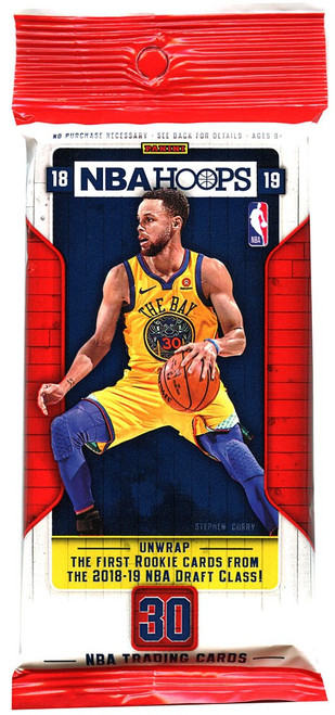 NBA Panini 2018-19 Hoops Basketball Trading Card FAT Pack [30 Cards!]