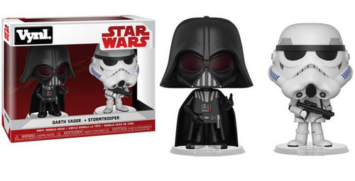 Funko Star Wars Vynl. Darth Vader & Stormtrooper Vinyl Figure 2-Pack