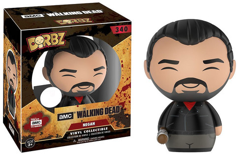 Funko The Walking Dead AMC TV Dorbz Negan Exclusive Vinyl Figure #340 [Bloody]
