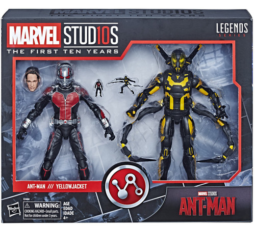 Marvel Studios: The First Ten Years Marvel Legends Ant-Man vs. Yellowjacket Action Figure 2-Pack