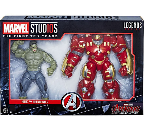 Avengers Age of Ultron Marvel Studios: The First Ten Years Marvel Legends Hulk /// Hulkbuster Action Figure 2-Pack