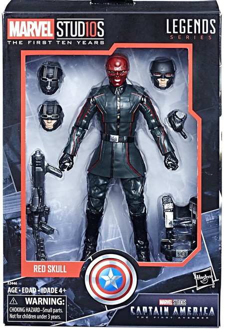 Captain America: The First Avenger Marvel Studios: The First Ten Years Marvel Legends Red Skull Action Figure