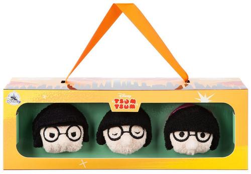 Disney / Pixar Incredibles 2 Tsum Tsum Edna Mode Exclusive 3.5-Inch Mini Plush 3-Pack