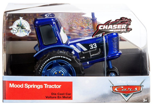 Disney / Pixar Cars Cars 3 Chaser Series Mood Springs Tractor Exclusive Diecast Car