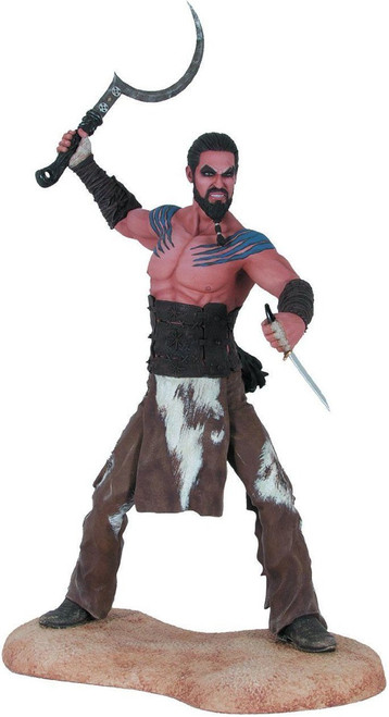 Game of Thrones Khal Drogo 7.5-Inch Collectible Figure [Damaged Package]