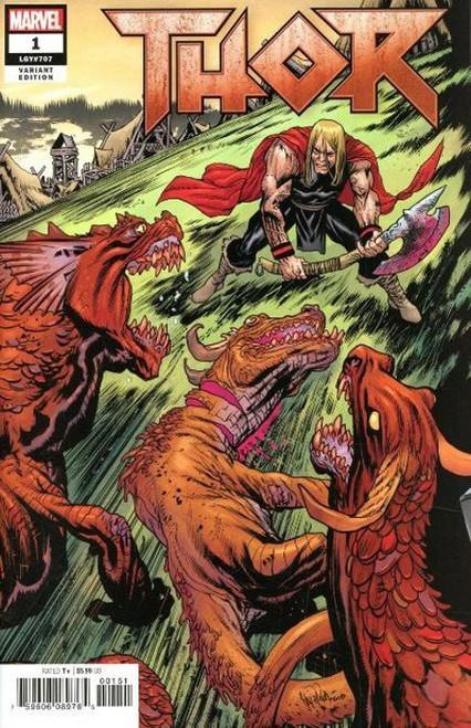 Marvel Comics Thor #1 Comic Book [Harren Connecting Variant]