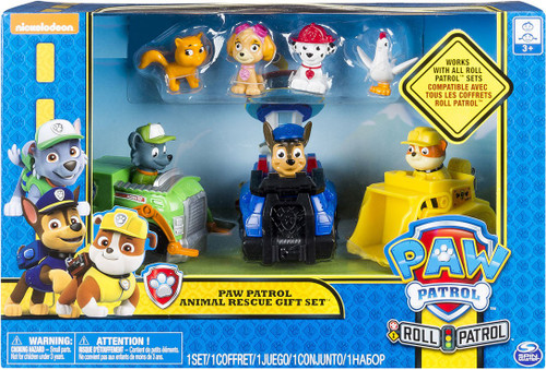 Paw Patrol Roll Patrol Animal Rescue Exclusive Gift Set [Damaged Package]