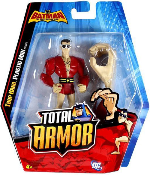 Batman Brave and the Bold Total Armor Trap Hand Plastic Man Action Figure [Damaged Package]