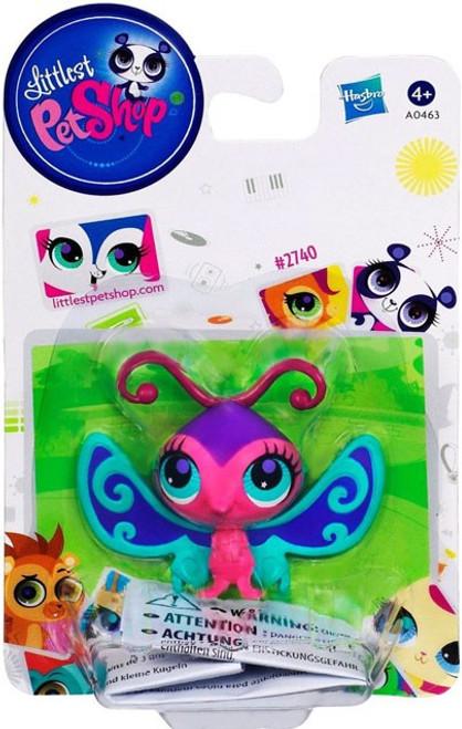Littlest Pet Shop Butterfly Figure #2740 [Damaged Package]