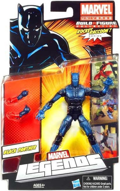 Marvel Legends 2013 Rocket Raccoon Series 2 Black Panther Action Figure [Damaged Package]