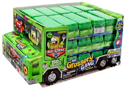 The Grossery Gang Series 4 Bug Strike Mystery Box [28 Packs]