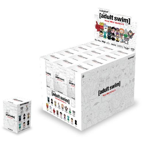 Adult Swim Vinyl Mini Figure Series 2 The Revenge 3-Inch Mystery Box [24 Packs]