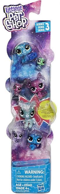 Littlest Pet Shop Cosmic Friends Moon Figure 7-Pack