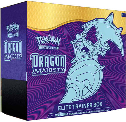 Pokemon Trading Card Game Dragon Majesty Naganadel-GX Elite Trainer Box [10 Booster Packs, Promo Card, 65 Card Sleeves, 45 Energy Cards & More]