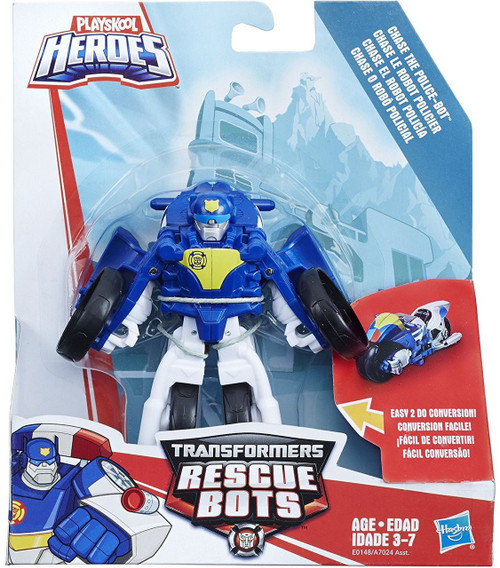 Transformers Rescue Bots Chase the Police-Bot Action Figure