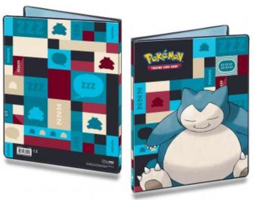 Ultra Pro Pokemon Trading Card Game Snorlax 9-Pocket Portfolio