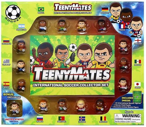 Teenymates International Soccer 1-Inch Collector Set