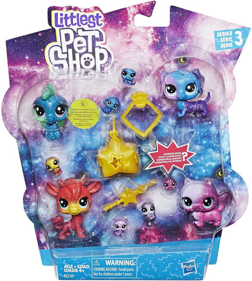 Littlest Pet Shop Cosmic Collection Figure 11-Pack
