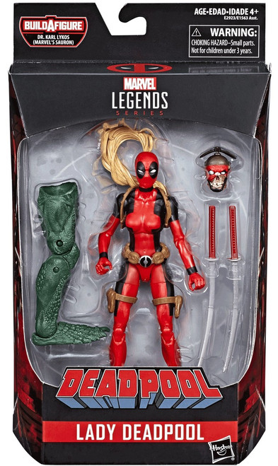 Marvel Legends Sauron Series Lady Deadpool Action Figure