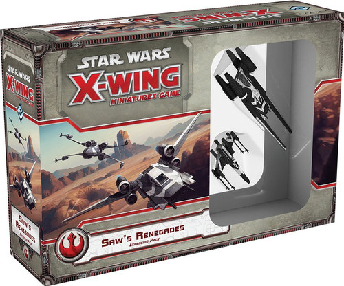 Star Wars X-Wing Miniatures Game Saw's Renegades Expansion Pack