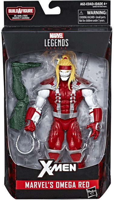 X-Men Marvel Legends Sauron Series Omega Red Action Figure