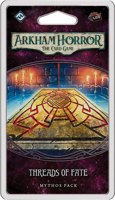 Arkham Horror The Card Game The Forgotten Age Threads of Fate Mythos Pack