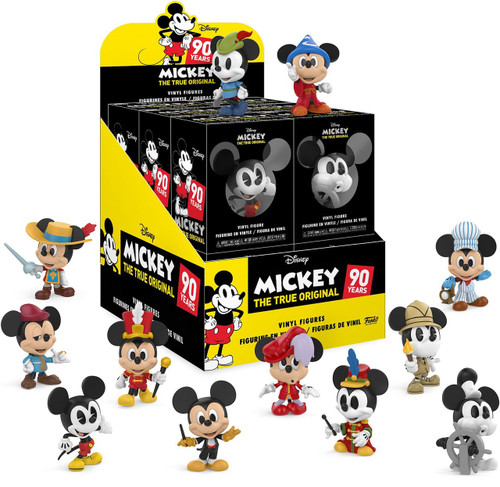 Funko Disney Mystery Minis Mickey Mouse 90th Anniversary Mystery Box [12 Packs]
