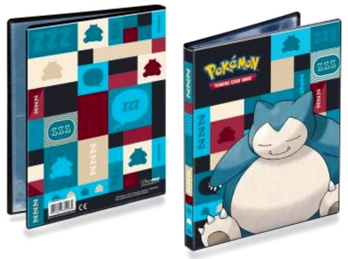 Ultra Pro Pokemon Trading Card Game Snorlax 4-Pocket Portfolio