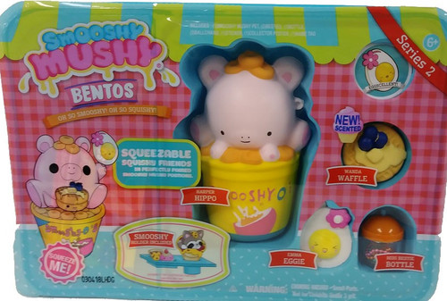 Smooshy Mushy Bentos Series 2 Harper Hippo Playset