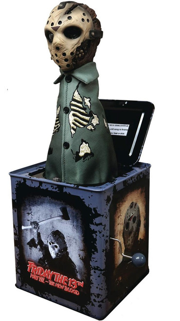 Friday the 13th Part 7 Jason Voorhees 14-Inch Burst A Box