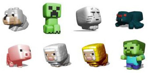 Squishme Minecraft Mystery Pack