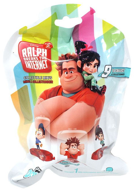 Disney Domez Wreck it Ralph 2 Mystery Pack