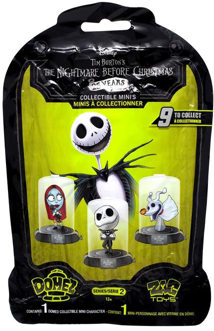 Disney Domez Series 2 Nightmare Before Christmas Mystery Pack