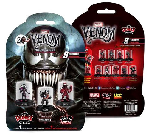 Marvel Domez Venom Mystery Pack